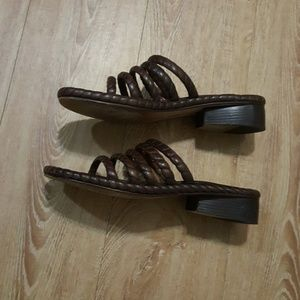 Cole Haan Shoes - Cole Haan leather slides